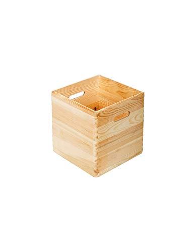 ASTIGARRAGA KIT LINE Caja de madera apilable 30X30X30
