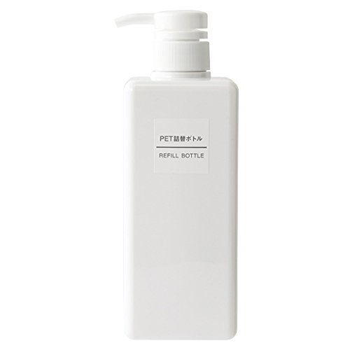 MUJI Refill Bottle 600ml [PET-resin White]