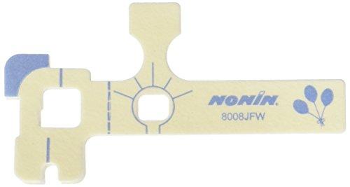 Nonin 8008JFW Flexiwrap - Lote de 25 sensores flexibles para pies de bebé