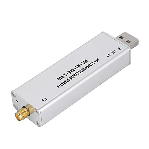 0.1 MHz-1.7 GHz SDR USB tuner ontvanger voor XP Win7 / Win8 / Win10 / Android, RTL2832U + R820T2 TCXO ADSB tuner ontvanger - UHF VHF HF FM RTL AM FM