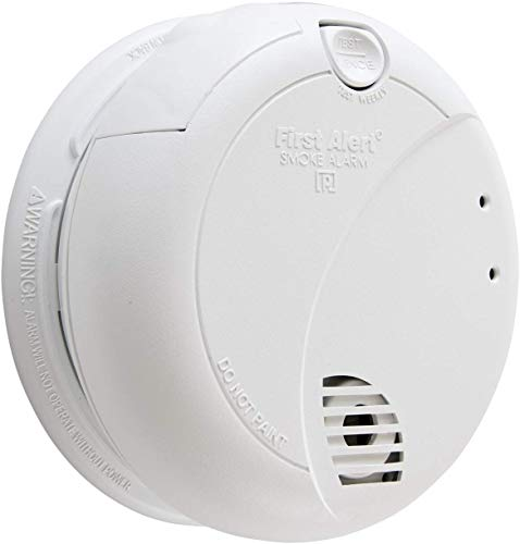 First Alert BRK 7010B Hardwire Smoke Alarm with Photoelectric Sensor and Battery Backup, 2 Pack