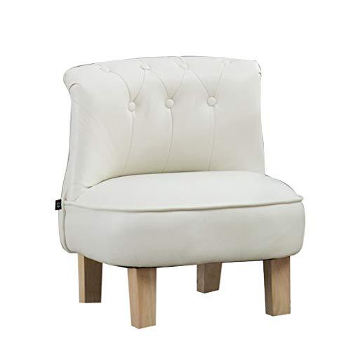 SMLZV Pelle Contemporary Furniture Bambini reclinabile Divano Seat for Camera Sala Giochi (Color : White)