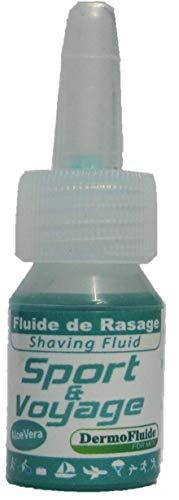 Mini DermoFluide, Fluide de Rasage Et Aprés-Rasage Peau Sensible 3ml