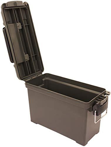 AB Robuste Munitions- und Werkzeugkiste aus Kunststoff (Oliv/Kaliber 30) - 4