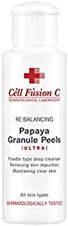 CELL FUSION C Papaya Granule Peels Mild Deep Cleanser 50g/1.76oz -Mild deep cleanser enriched with natural enzymes for all skin types