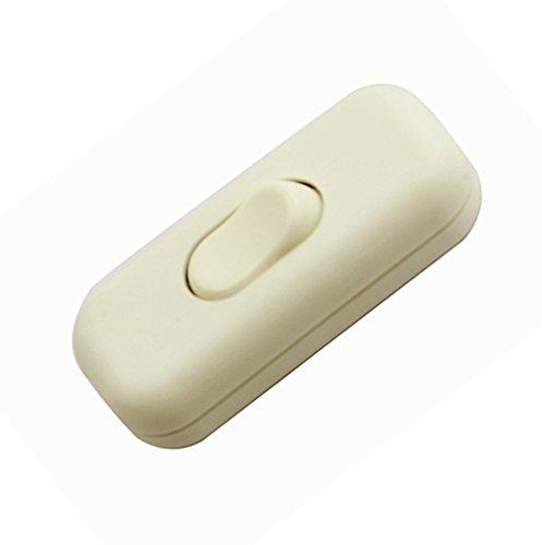 Interruptor Torpedo / 1 Paquete Interruptor Inline Blanco SF
