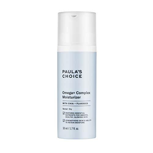 Paula's Choice Omega+ Complex Lightweight Face Moisturizer, Shea Butter & Plant Oils, Brightening Vitamin C - For Dry & Sensitive Skin