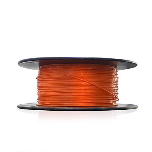 1.75mm Orange TPU Filament 3D Printer Filament 0.8kg Spool Dimension Accuracy +/- 0.05mm