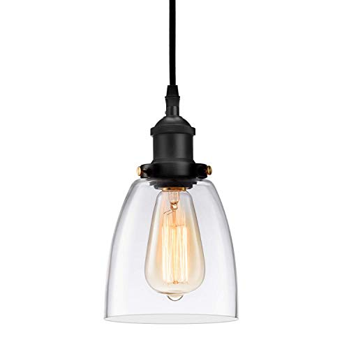 Kitchen Mini-Pendant Light Industrial Hanging Light Island...