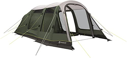 Outwell Green Parkdale 4PA Prime Air 4 Man 3 Room Inflatable Tunnel Tent