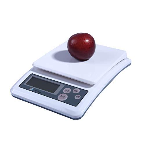 LICHUXIN Oksmsa Digital Balanza De Cocina 0.1g Balanza Electrónica Comida Escala De Hornear Preciso Balance Balanza De Plataforma (Size : 2kg/0.1g)