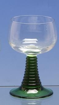 Luminarc 2 Stück Weinrömer mit grünem Fuß 0,250l