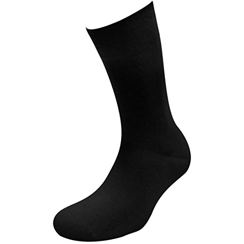 Sympatico Socken EXQUISIT (2 Paar) Color schwarz, Size 43-46