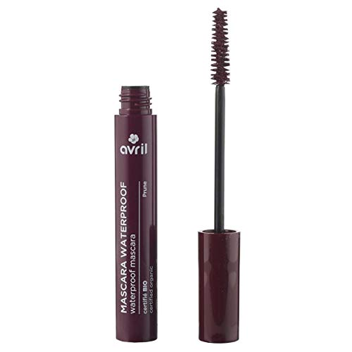 Avril Organic Waterproof Mascara Plum (Prune) 10ml