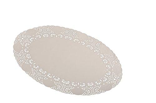 Semy blondas para tartas, ovaladas, 21 x 32 cm (1 x 100 unidades)