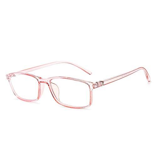 Mode-anti-blauwe bril, anti-vermoeidheids-veiligheidsbril, uniseks, computerstralingsbril zonder graden, bruin Powder Box