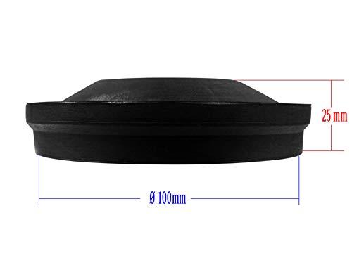 Universal-Staubschutz Deckel Abdeckung Kappe Deckel für Scheinwerfer 100mm