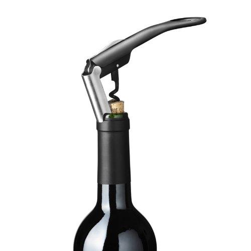menu コルク ワインオープナー 栓抜き フォイルカッター 付き ブラック ウェイターズコルクスクリュー 4620539