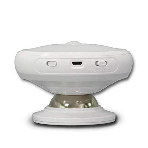 Wan&ya Sensor táctil LED Armario Luz FCC CE ROSH Certificado Una lámpara Cabezal de lámpara de Doble propósito Rotación de 360 ° para Armario Cocina Dormitorio