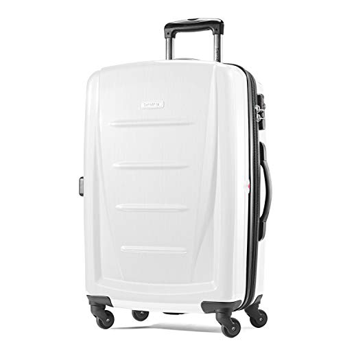 Samsonite Winfield 2 Hardside Carry On Luggage with Spinner Wheels, 20-Inch, Brushed White