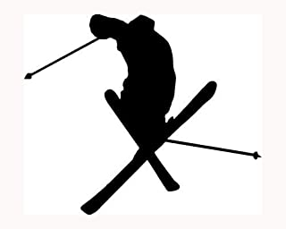 Snow Skier Skiing Boarding I/'m Very Difficult sticker decal