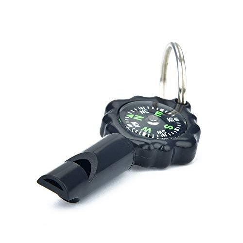 Multifunctionele thermometer Fluitkompas Directionele buiten Mini draagbaar voor wandelen/reizen/kamperen/lesgeven/cadeau/buitenreizen
