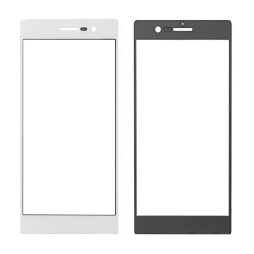 Accesorios Kits pantalla LCD táctil para Huawei 10 unids pantalla frontal lente de vidrio exterior para Huawei Ascend P7 reemplazo