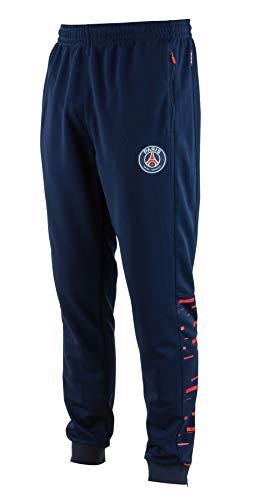 Paris Saint Germain PSG Herren-Trainingshose, Erwachsenengröße XL blau