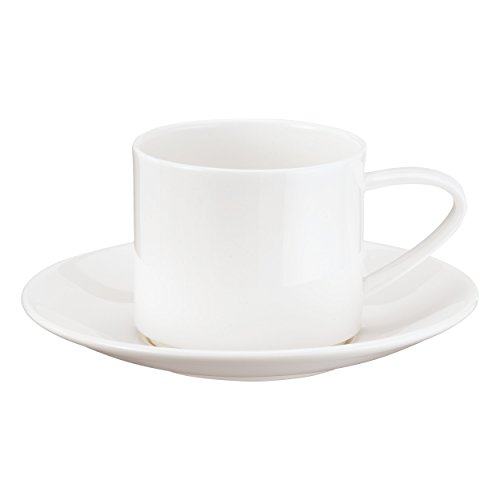 Cup with Saucer Stackable