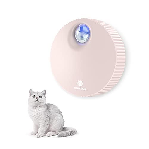 Sumbee Eliminador de olores de Mascotas Inteligente, eliminador de olores de Caja de Arena para Gatos, Desodorante sin Perfume y sin Polvo para pequeños Animales Inodoro o hogar - Rosa