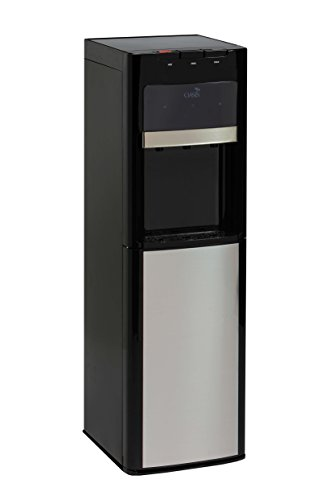 OASIS Premium Bottom Loading Water Dispenser/Water Cooler – Convertible to Bottleless, Hot...