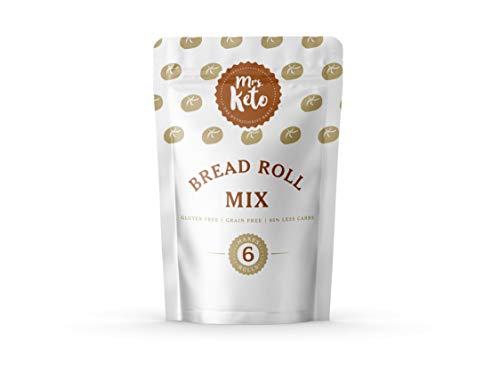 Mrs. Keto Bread Roll Mix - Low Carb, Gluten Free, High Fibre
