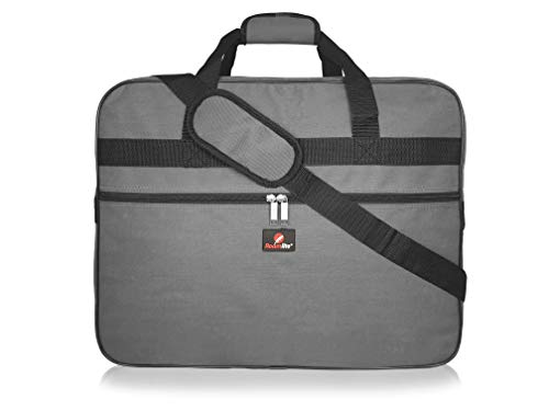 Roamlite Hand Luggage Holdall - Exact Size Ryan-air and Easy-Jet Carry-On Bags - 2019 Travel Duffle - 55 cm x40cm x20cm 40 Litre - RL56 (Grey)