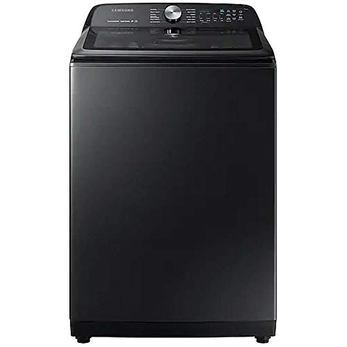 Samsung WA50R5400AV 5.0 cu. ft. Black Stainless Top Load Washer with Super Speed WA50R5400AV/US