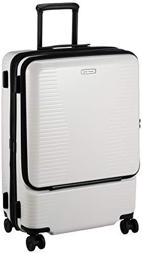 [ワールドトラベラー] スーツケース プリマス エキスパンダブル キャスターストッパー付 74L 4.9kg ホワイト