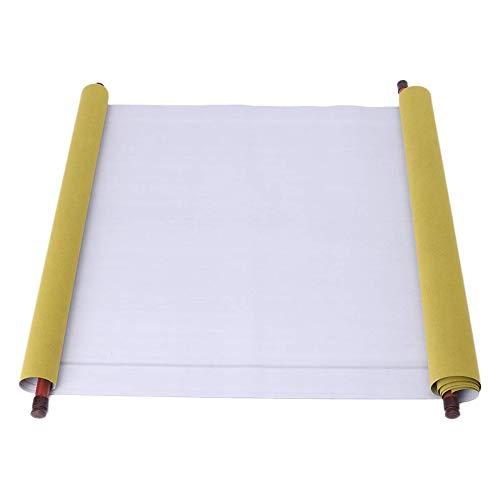Wankd Kalligraphie Papier - Wiederverwendbare Chinese Magic Cloth Water Paper - Magic Cloth Water Writing Üben Kanji Chinesische Kalligraphie feine Schriftrolle - 150x43cm