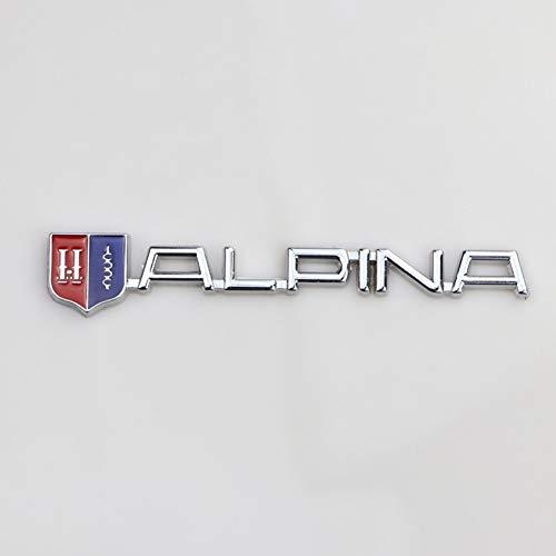 LBPLWY Auto schlüsselbund Schlüsselanhänger,Neue Auto Aufkleber Emblem Abzeichen für BMW Alpina Logo 116I 420I 425I 130I 135I M140I XL4 XL3 XL5 XL6 Auto Dekoration