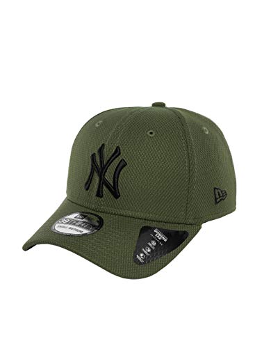 New Era Diamond Era 39Thirty Cap NY Yankees Khaki Schwarz, Size:S/M