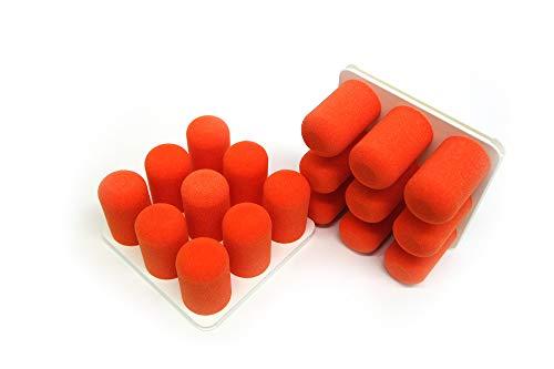 Pinnns® Organizer Duo | Wohnwagen Organizer, Besenhalterung & vieles mehr! | Moderner & einzigartiger Wandorganizer in vielen Farbkombinationen! (Orange, Basisplatte Weiß)