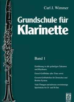 GRUNDSCHULE FUER KLARINETTE 1 - arrangiert für Klarinette [Noten / Sheetmusic] Komponist: WIMMER CARL J