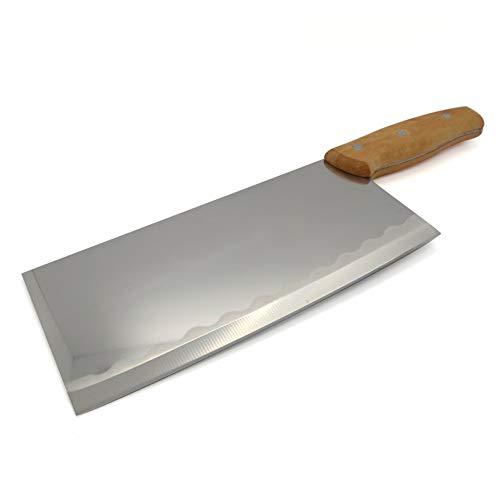 Starlet24® 34cm Chinesisches Küchenmesser Hackmesser Küchenbeil Kochmesser Messer Hackbeil Beil