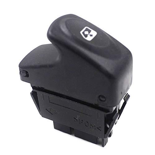 YJDTYM Botón de Interruptor de Control de Ventanas de 5 Pines Power Levantador eléctrico Interruptores Botón Push/Ajuste para Renault KANGOO Megane Clio 7700838100