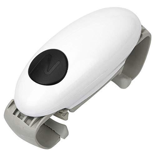 CAN TOP REMOVER Binaural Abrelatas eléctrico - Botella abrelatas automático abrelatas abrelatas...