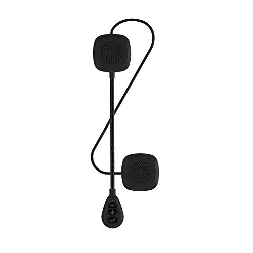 MagiDeal Auriculares Inalámbricos Bluetooth del Motor, Altavoz del Auricular del Auricular del Casco de La Motocicleta,