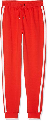 Marca Amazon - find. Soft Side Stripe Jogger Pantalones Mujer