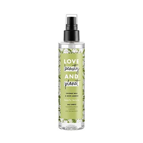 Love Beauty Planet Coconut Milk White Jasmine Beachy Texture Salt Spritz Spray 6.7 fl oz