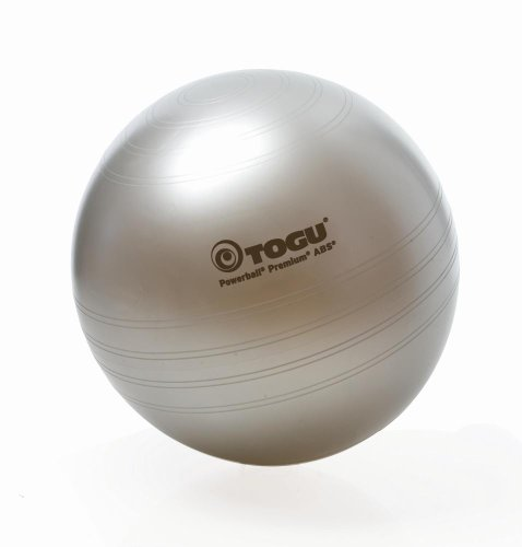TOGU Powerball® Premium ABS® aktiv&gesund 75 cm silber