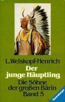 Buchseite und Rezensionen zu 'Der junge Häuptling: Band 5 (Ravensburger Taschenbücher)' von Welskopf-Henrich, Liselotte