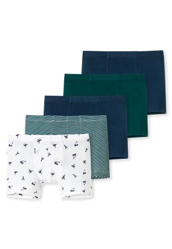 Schiesser Jungen Unterhosen 5 Pack Boxershorts, Mehrfarbig 13, 104