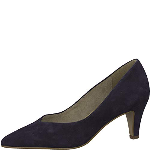 Tamaris Damen Pumps 22468-24, Frauen KlassischePumps, elegant Woman Abend Feier Court-Shoes Absatzschuhe Abendschuhe Lady,Navy,38 EU / 5 UK